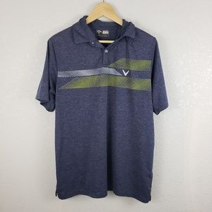 Callaway opti dri polo golf shirt short sleeve Med